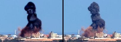 Tawfik Gebreel Gaza airstrike drawings 3