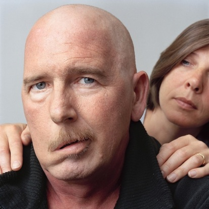 Man with his sister, 2009