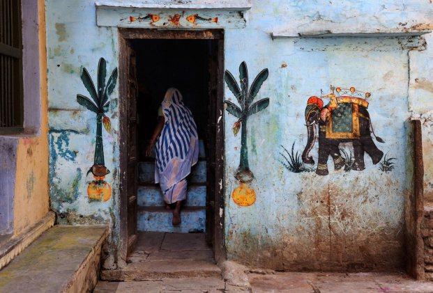 Women in Varanasi, India, 2010