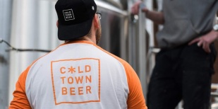 Naming, branding, positioning and packaging for Cold Town Brewery