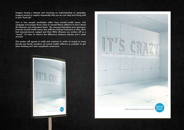 Traver Prinsloo - Indoor Posters - Rethink Mental Health